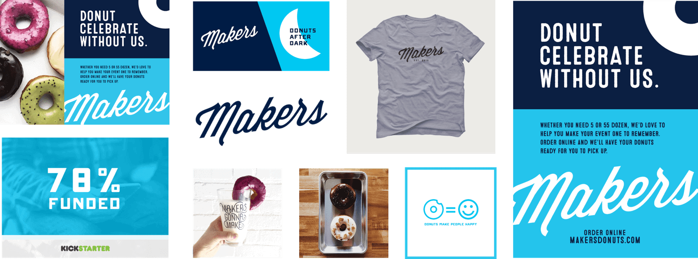 Makers Donuts Brand Identity