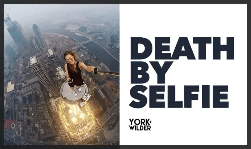 Death By Selfie Pitch Deck Design