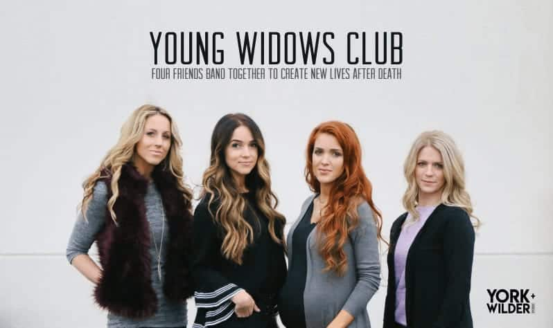 Young Widows Club Pitch Deck Design